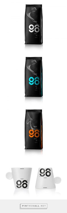 96 Espresso packaging design by Mousegraphics - http://www.packagingoftheworld.com/2018/01/96-espresso.html