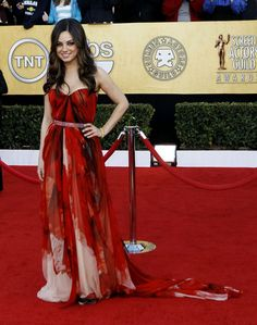 Mila Kunis @ 17th Annual Screen Actors Guild Awards   Arrivals  Los Angeles  January 30   8   10 ADD photo 202051