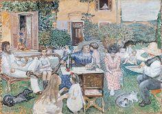 Pierre Bonnard / La Familie Terrasse, 1902
