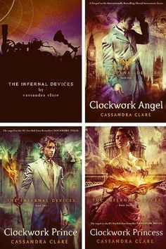 The Infernal Devices // Clockwork Angel // Clockwork Prince // Clockwork Princess