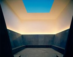 turrell skyspace - may not be something that we can directly build into the space BUT definitely a concept that we very much like and would like to incorporate as possible. http://en.wikipedia.org/wiki/Skyspace