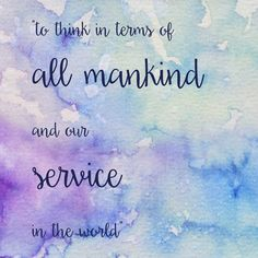 """""""To think in terms of all mankind and our service in the world"""" ZTA, Zeta Tau Alpha, Creed Line, Instant Download, Printable Art, 4x4, Quote Print"""