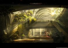 ArtStation - Zombie Apocalypse, Dhruv Chakkamadam
