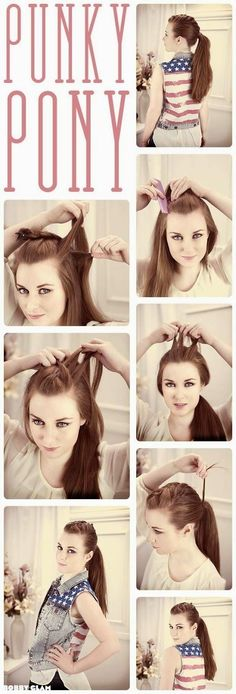 Seven step-by-step Easy and Fashionable Hairstyles that would make your Week way Prettier - Trend2Wear