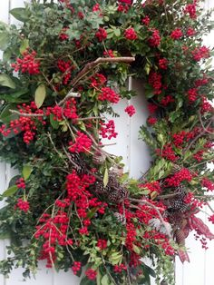 #Christmas wreath