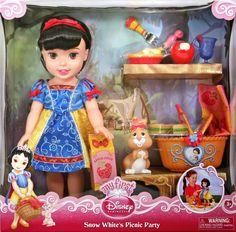 "Filmic Light - Snow White Archive: ""My First Disney Princess"" Snow White Doll"