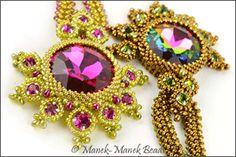 Lady Madeleine's Necklace by Manek-Manek Beads - Jewelry | Kits | Beads | Patterns