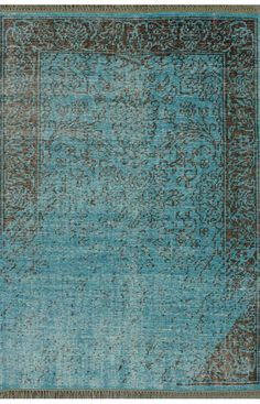 nuLOOM Turquoise Bristol | Contemporary Rugs