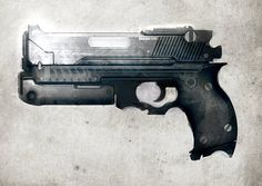 Concept Weapon Speed Paintings By Axel Torvenius | Oculoid | Art & Design Inspiration