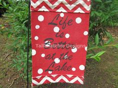 40% OFF TODAY Burlap Better At the Lake by TallahatchieDesigns