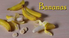 Polymer Clay Banana Tutorial - Miniature Food...when I watch people create things such as this, I am just SO amazed at the talents of others!
