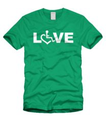 LOVE Tee - Green #3ELove
