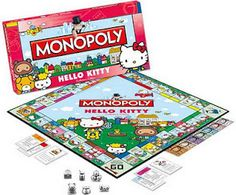 <3 Hello Kitty and Monopoly!