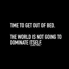 World won't dominate itself