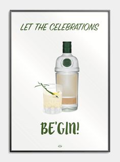 poster jokes pun - let the celebrations be gin - plakat Gin Quotes, Fact Quotes, Gin Puns, Box Wedding Invitations, Gin Bar, Drink Table, Homemade Christmas Gifts, Quote Posters, Funny Signs