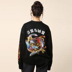 G.V.G.V. Embroidered Sweatshirt / Shop Super Street - 5