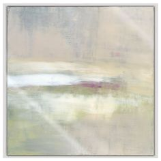 Mystic Landscape B Framed Stretched Canvas Art