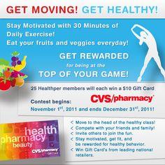 Healthper  {Advertising a contest}