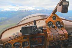 DeHavilland Beaver 44Q flying into the Alaska Range