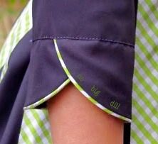 Great detail!. Love the piping, the gingham, the colors...