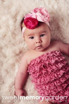 I want to make outfit and bow for my baby.