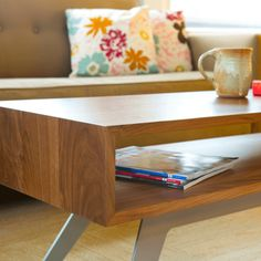 This Elko Series Coffee Table from Pure Home is perfect for a Northwest contemporary home!