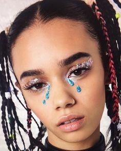 The glitter tears