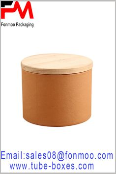 This is a very high-grade cardboard tube boxes packaging. The laminated paper of the paper tube is imitation cloth paper, and the cover is a smooth, round wood cover. Round Gift Boxes, Gift Boxes With Lids, Box With Lid, Custom Packaging, Box Packaging, Packaging Design, Packaging Manufacturers, Cardboard Tubes, Kraft Paper