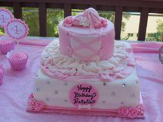 "Photo 1 of 27: Ballerina / Birthday ""Natalia's First Birthday"" | Catch My Party"