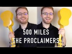 I'm Gonna Be Miles) - The Proclaimers (Ukulele Tutorial,) this is roadtrip music! Cool Ukulele, Ukulele Tabs, Ukulele Chords, The Proclaimers, Music Chords, 500 Miles, Ukulele Songs, Music Lessons, You Are The Father