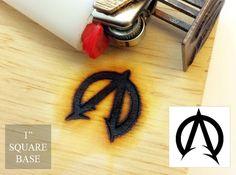 Bic Lighter Branding Iron - 1 Inch Square 3d printed