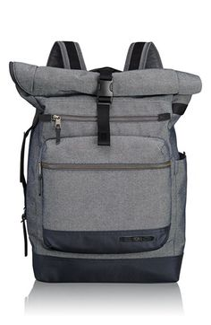 Tumi 'Dalston - Ridley' Roll Top Backpack available at #Nordstrom