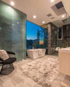 Beautiful bathroom by FINA Construction Group  #luxury #luxuryhome #architect #luxuryhouse #arquitectura #luxurylife #luxurylifestyle #mansion #mansions #mansionhouse #bighouse #bighouses #lights #homes #homesweethome #homestyle #homestead #homestyling #house #houses #architecture #architectureporn #design #modern #architects #bathroom #interior #interiordesign  All credits correspond to photographerdesignercreator - Architecture and Home Decor - Bedroom - Bathroom - Kitchen And Living Room…