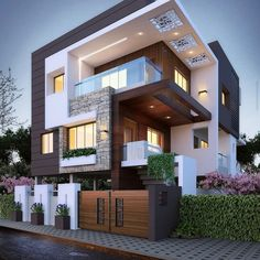 Top 10 cozy houses in the Modern style House Designs Exterior Cozy houses modern. - Top 10 cozy houses in the Modern style House Designs Exterior Cozy houses modern style Top - Bungalow House Design, House Front Design, House Design Photos, Architecture Résidentielle, Architecture Geometric, Amazing Architecture, Computer Architecture, Chinese Architecture, Commercial Architecture