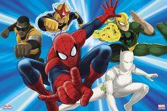 ultimate spiderman iron fist | Spider-Man - White Tiger, Iron Fist, Power Man