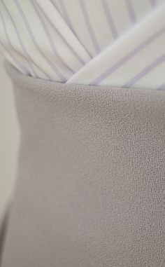 Beautifully-soft brown wool twill fabric with a gently-napped ...
