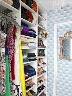 Proof that you don't need a sprawling Fifth Avenue apartment to carve out a jewel of a closet.