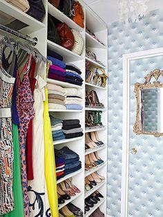 Closet Door Alternative Shelves 39 Ideas For 2019 Closet Bedroom, Master Closet, Closet Space, Attic Closet, Master Bedroom, Walk In Closet Design, Closet Designs, Closet Storage, Closet Organization