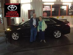 All the way from Lima, meet Mr. & Mrs. Estes and their new 2014 #Toyota #Camry.