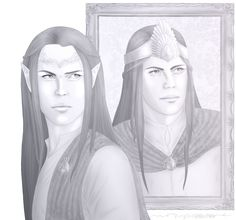 Elrond and Elros: Choices by VergissMichNicht.deviantart.com on @DeviantArt
