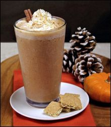 172 calories for a a SUPER-THICK Pumpkin Pie Shake. And you thought it couldn't be done...