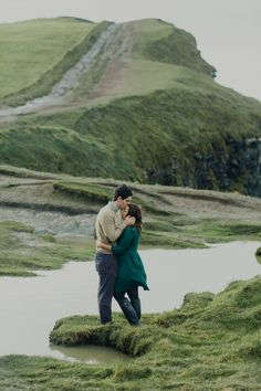 Beautifully moody couples photoshoot at Ireland's Cliffs of Moher by Julian N Photography
