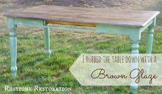 Rustique Restoration: Two Farmhouse Tables