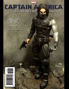 The Winter Soldier (Marvel Select) Custom Action Figure