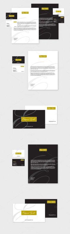 Elegant Business Letterhead Pack