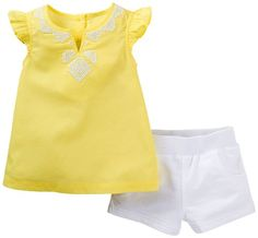 Carter's Embroidered Top & Short Set (12 Months)