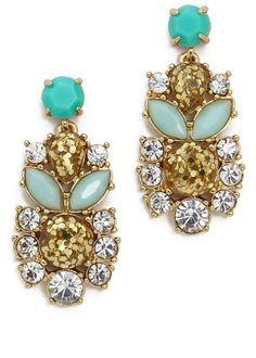 Kate Spade New York Showgirl Gems Statement Earrings