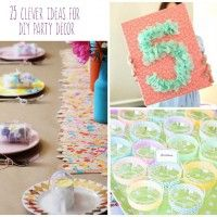 Celebrate with adorable decor on a budget with these fun DIYs that are sure to transform the party...