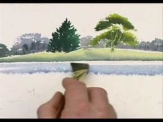 Watercolor Tree Reflections - YouTube