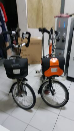 New edition to the family Brompton, Stationary, Gym Equipment, Motorcycle, Bike, Bicycle Kick, Trial Bike, Biking, Bicycle